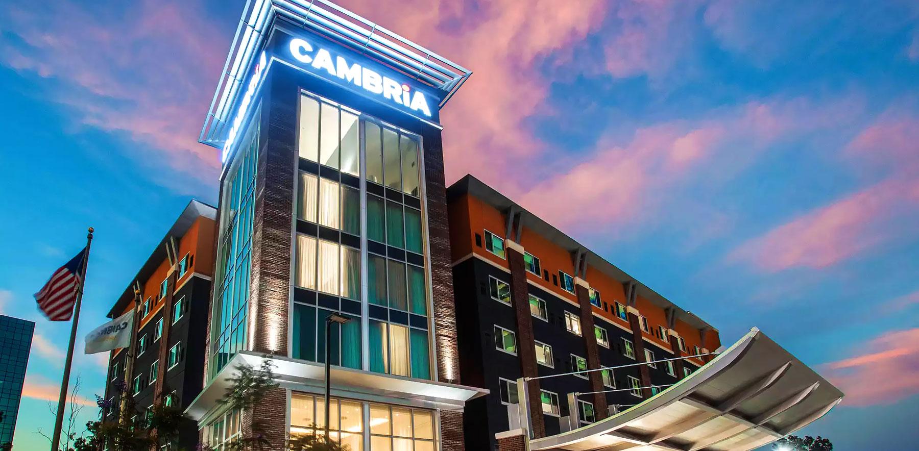 Home | Cambria Hotel LAX